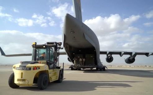 """במבצע אווירי נרחב: הושלמה פריסת הטילים המתקדמים מארה""""ב"""