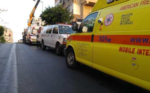 ירושלים: ילד בן 3 נפצע קשה לאחר שנפל מגובה של כ-3 קומות