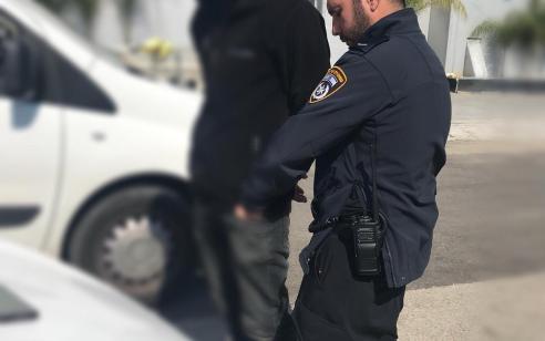 16 שוהים בלתי חוקיים נעצרו במהלך אכיפה בדרום הארץ