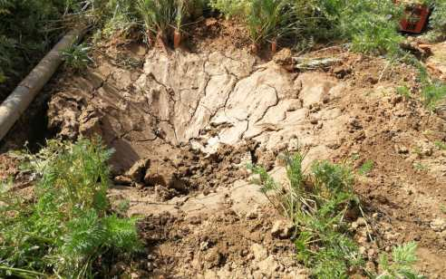 """רקטה אותרה בשטח חקלאי במועצה האזורית שדות נגב – טופלה ונוטרלה ע""""י חבלן"""