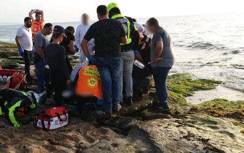ילד כבן 6 פונה במצב אנוש לאחר שטבע סמוך לטיילת בנהריה