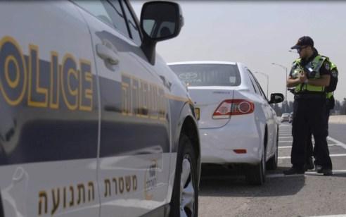 """אכיפה אגף התנועה בסופ""""ש:  נרשמו כ-3,500 דו""""חות ונפסלו 149 רישיונות נהיגה"""