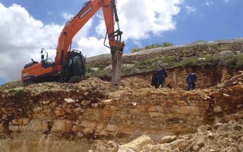 המנהל האזרחי ביצע תשע אכיפות נגד פעילויות בלתי חוקיות במהלך חג הפסח ברחבי יהודה ושומרון