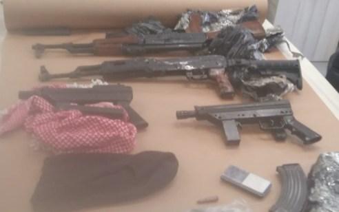תושב כפר ברא נעצר לאחר שבחיפוש ברכב נמצאו כלי נשק ותחמושת
