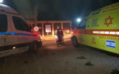 גבר כבן 30 נפצע בינוני בפיצוץ מיכל דלק במושב תלמי בילו