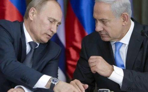 """נתניהו שוחח בטלפון עם נשיא רוסיה ולדימיר פוטין: """"השניים דנו בהתפתחויות האזוריות"""""""