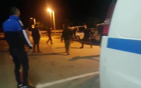תיעוד: תקיפת מאבטחים בבית החולים פוריה – 8 חשודים עוכבו