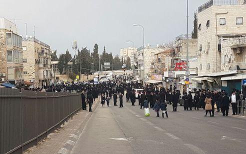 6 עצורים במהלך מחאה בירושלים נגד האירוויזיון