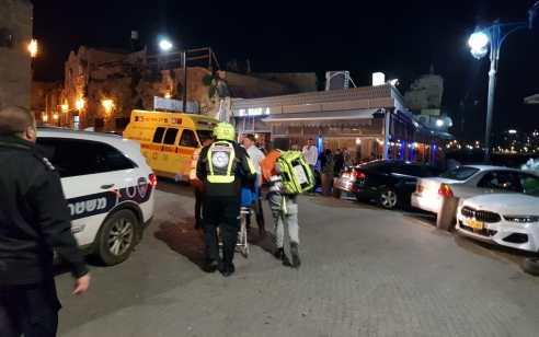 נצרת עילית: גבר כבן 50 נפל מגובה ונפצע קשה