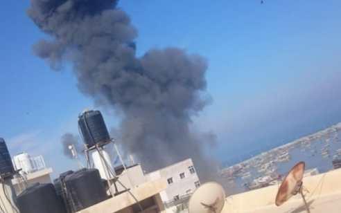 כלי-טיס של חיל-האוויר תקף חולית פעילי טרור בצפון הרצועה – דיווח על נפגעים