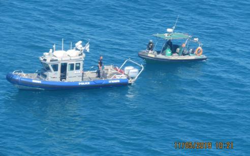 דייגים שעסקו בדייג לא חוקי בעונת הרבייה של הדגים נתפסו על ידי פקחי רשות הטבע והגנים