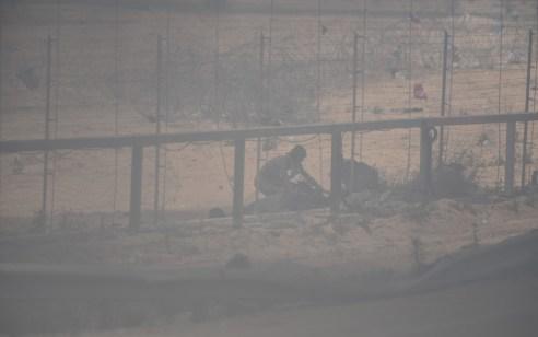 מחבל חמוש בסכין נעצר לאחר שחצה את גדר המערכת בצפון רצועת עזה
