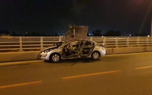 הרוג בפיצוץ רכב בחדרה – הנסיבות נבדקות
