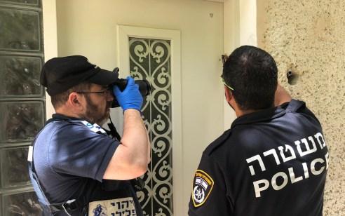 מזוזות הושחתו במספר בתים בחיפה – המשטרה פתחה בחקירה