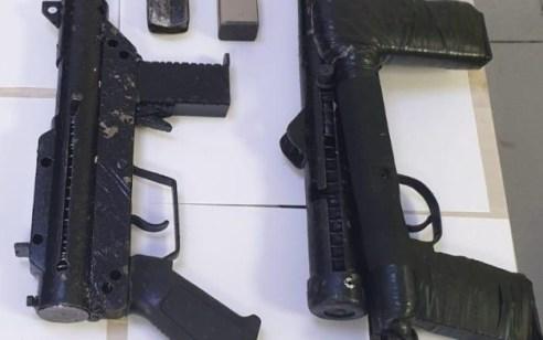 תושב ערערה עוכב לחקירה בחשד להחזקת כלי נשק לא חוקיים מסוג עוזי וקרלו בביתו