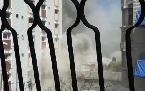 """כלי טיס של צה""""ל תקף לפני זמן קצר מספר פעילי טרור נוספים בצפון רצועת עזה"""