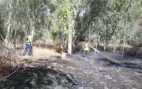 3 שריפות פרצו בשעות האחרונות בעוטף עזה – לפחות אחד מהם כתוצאה מבלוני תבערה