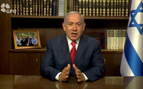 """נתניהו: """"זריף שוב משקר – איראן היא זו שמאיימת בגלוי בהשמדה"""""""