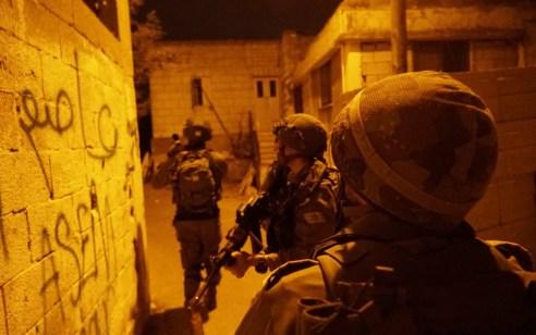 הלילה נעצרו שבעה מבוקשים פעילי טרור