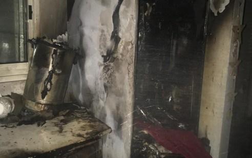 אישה פונתה במצב קל עד בינוני בשריפת בית פרטי בנהריה