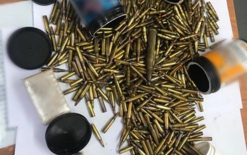בפעילות יזומה לאיתור אמצעי לחימה בצפון: אותרו תחמושת רבה לאקדח ובקבוקי תבערה