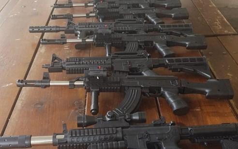 נתפסו 22 רובי איירסופט ששווקו כצעצועים מסוכנים בסח'נין