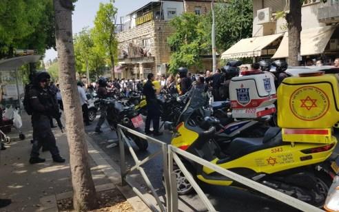אירוע דקירה ברחוב שטראוס בירושלים – החשוד נתפס