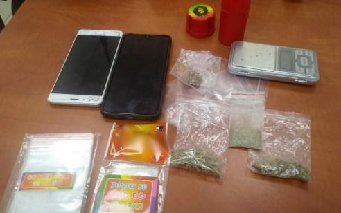 נעצר חשוד שסחר בסמים והדיח קטינים לשימוש בסם