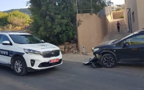 רוכב אופנוע נפצע קשה בתאונה עם רכב בפקיעין