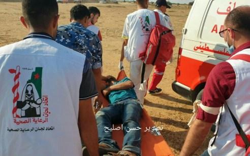 כ7,000 מחבלים מתפרעים בגבול הרצועה – משרד הבריאות בעזה מדווח על 50 פצועים