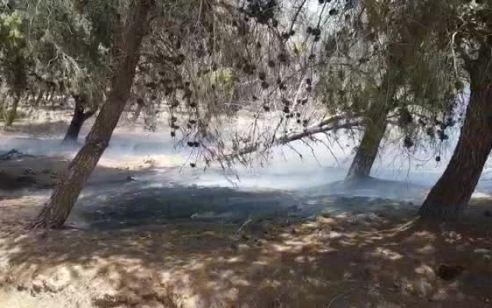 טרור הבלונים: 4 שריפות נגרמו מבלונים היום בעוטף עזה