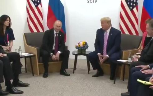 """טראמפ התבדח עם פוטין: """"אל תתערב בבחירות בבקשה"""""""