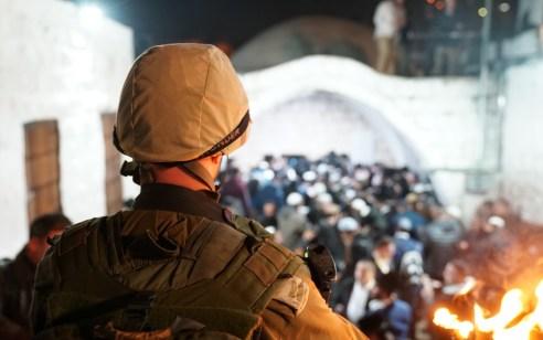 כ- 3500 מתפללים נכנסו לקבר יוסף הלילה בשכם