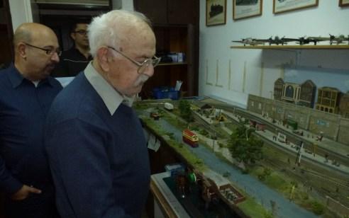 חובב הרכבות הלך אל מותו, משפחתו תרמה את אוסף הרכבות שלו, שנאסף במשך עשרות שנים, למוזיאון רכבת ישראל