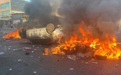 מחאת העדה האתיופית: 19 עצורים בצומת קריית אתא, 3 שוטרים נפצעו – נתיבי איילון וכביש החוף נחסמו
