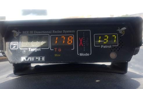 """נהגת בת 29 נתפסה במהירות 178 קמ""""ש, נהג נוסף בן 33 נתפס במהירת 185 קמ""""ש בכביש 90"""