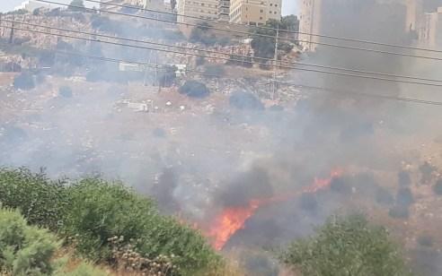 גל החום הכבד: שריפות פרצו ברחבי הארץ – כבישים נחסמו ודיירים פונו מבתיהם