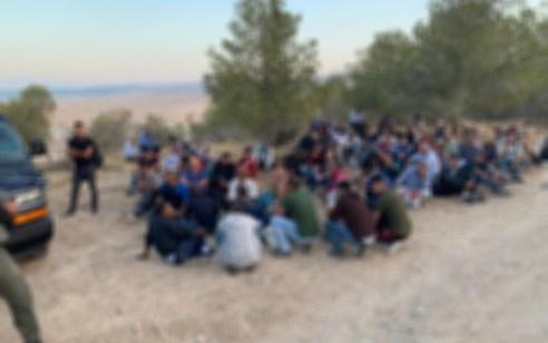 102 שוהים בלתי חוקיים נעצרו במעבר מיתר