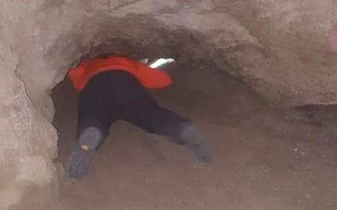 משפחת תיירים ממקסיקו חולצו בשלום ממערת הקולונל בהר סדום