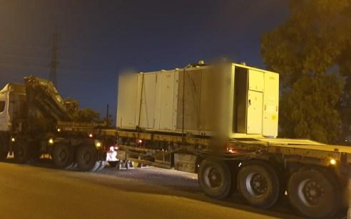 בן 71 פסול לנהיגה נתפס נוהג על משאית פול טריילר במשקל 48 טון מבלי שהוציא רישיון על משאית