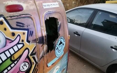 פצוע קל בפיגוע אבנים סמוך לעפרה – נזק נגרם לרכב