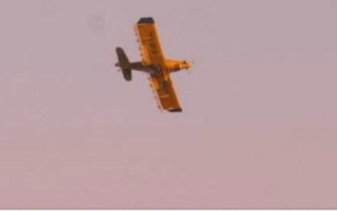 תיעוד: כוחותינו פתחו באש בצפון הארץ לעבר מטוס ישראלי שנחשד כמטוס זר