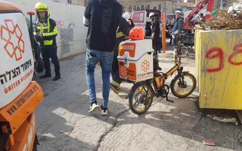 ירושלים: הולכת רגל כבת 80 נפגעה מרכב ונהרגה