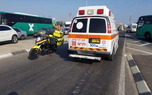 הולך רגל בן 75 נפגע מרכב במושב עוצם – מצבו קשה