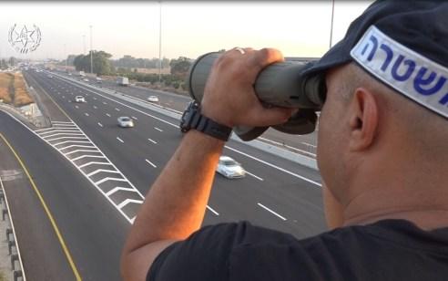"""באכיפה ממוקדת במהלך השבוע: נרשמו כ-7,000 דו""""חות תנועה לנהגים"""