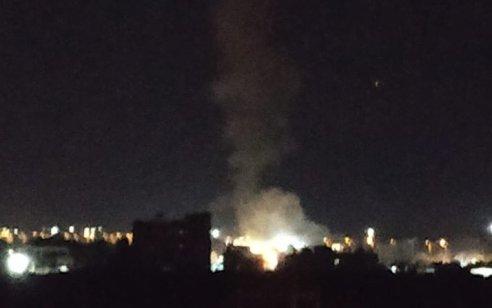 חיל האוויר תקף פעמיים בעזה בתגובה לירי רקטות לעבר עוטף עזה