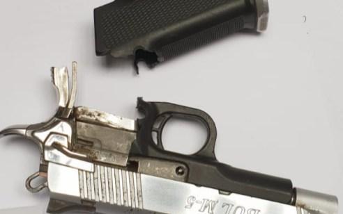 בהכוונת מסוק משטרתי נעצר תושב טארבין לאחר שהחזיק ברשותו נשק גנוב – צפו בתיעוד