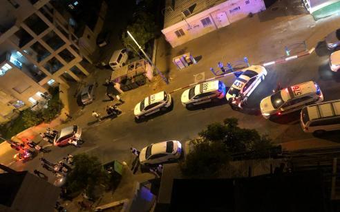 תיעוד: ירי בוצע לעבר בניין בבני ברק – המשטרה פתחה בחקירה
