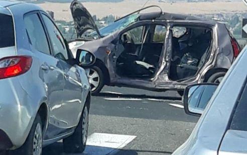 פצועה קשה ושני נפגעים באורח קל בתאונה בצומת פוריה