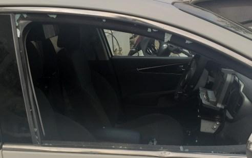 קטין כבן 16 נעצר הבוקר בבית שמש לאחר שתקף שוטרים וגרם נזק לניידת המשטרה